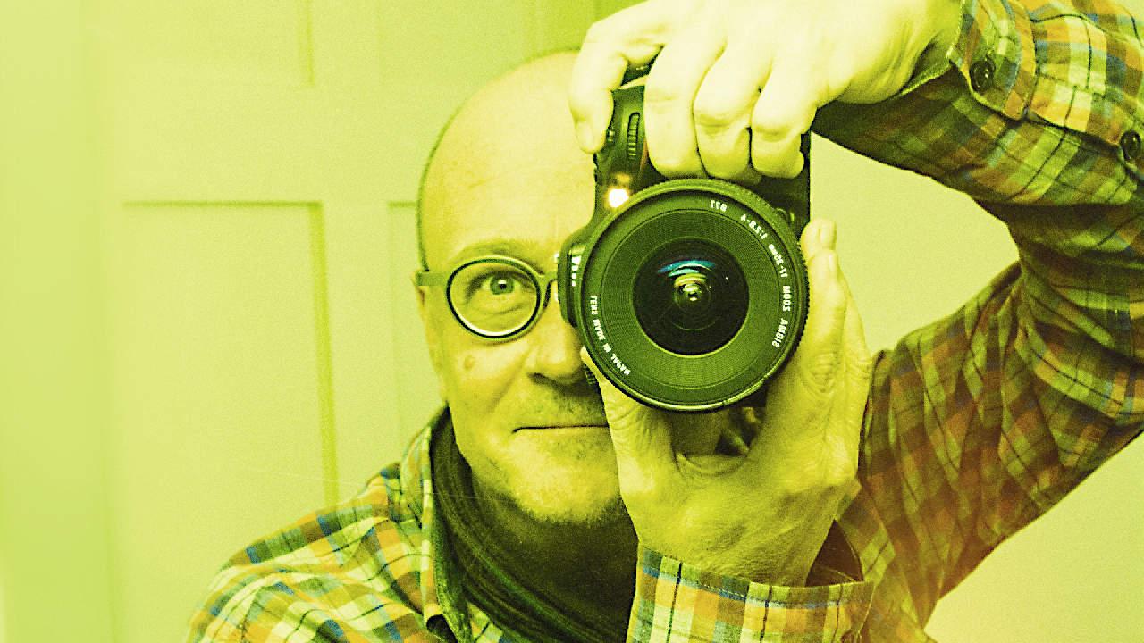 Gian Peider Murezzan mit Kamera