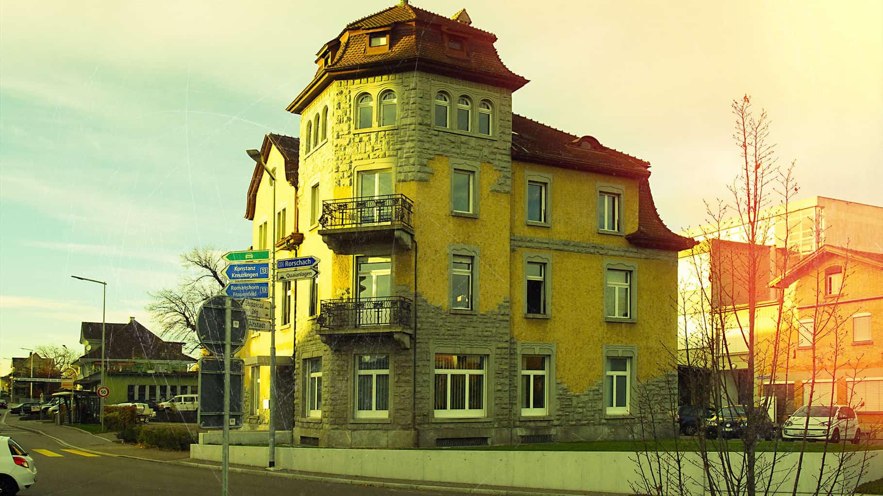 Der Breitehof in Arbon, Standort von Kommbinat