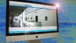 Die Website www.alterszentrum-konsumhof.ch